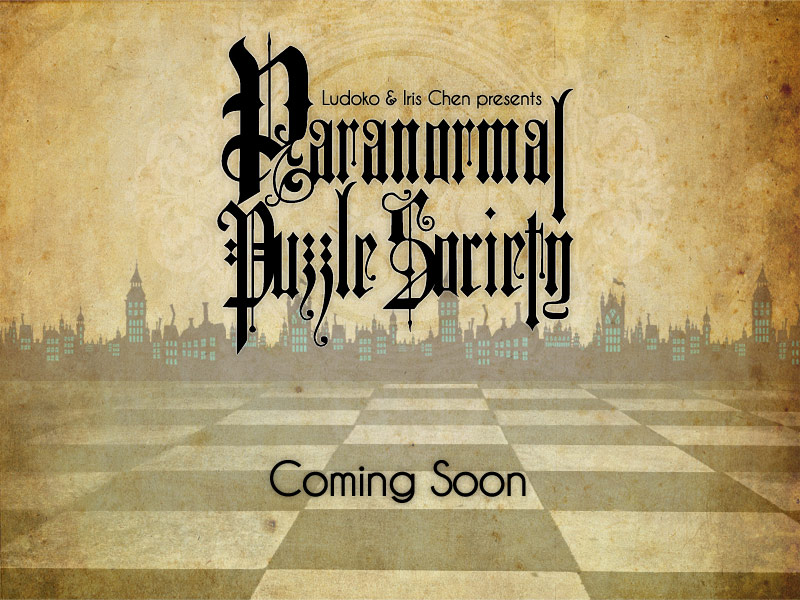 Paranormal Puzzle Society is coming soon!